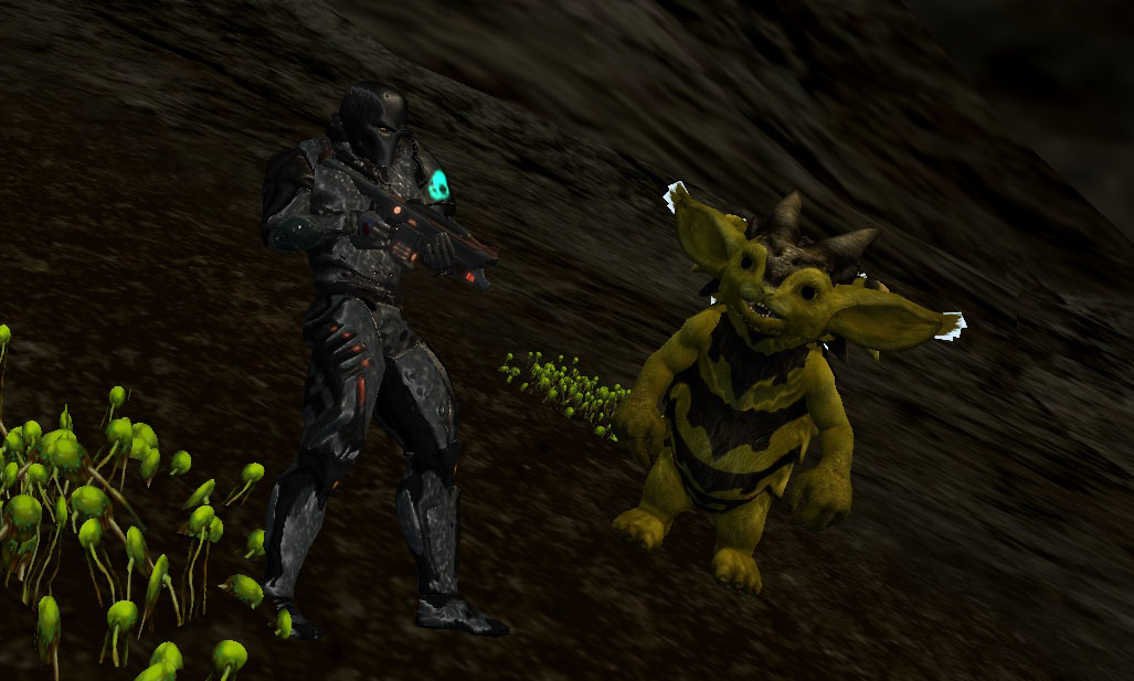 Hunting With A Pet in Entropia Universe